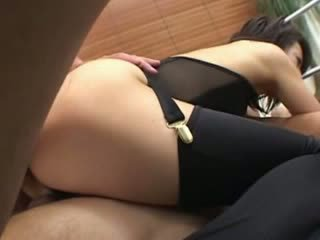 Ultra sexy panties and oriental Old Man