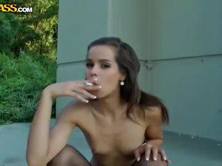 naakt, alle publiek, een publieke naaktheid porno