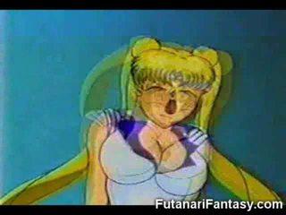 Futanari Cums on Sailor Moon