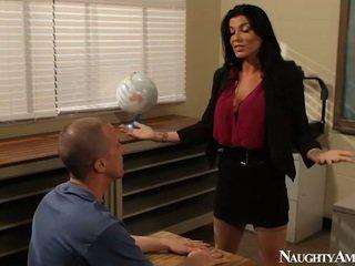 Groot titted instructor romi regen having neuken onto erotisch america
