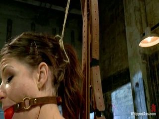 Elle Alexandra, Dirty Ginger Dominatrix Punishes Mia Gold!