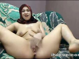 Arab gaja masturbates em web câmara