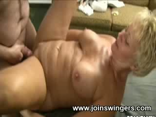 Old lady got fucked hard