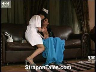 strap-on, heetste vrouwelijke dominantie klem, femdom porno