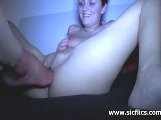 Skinny Teen Brutally Fisted And Foot Fucked