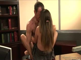 Allie Uses Her Moist Love Tunnel As Bait To Blackmail The Dean!