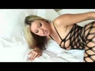 Busty MEmphis Monroe Rubbing Her Slit And Booty Wearing A Hawt Fishnet
