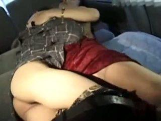Matura asiatico panterona fucks suo magrissima giovane lover