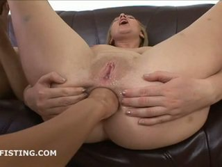 brunette, nice ass, anal sex, shaved pussy