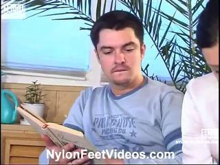 Laura și adam rău ciorapi picioare acțiune