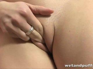 close-up scène, een orgasme seks, mooi clitoris seks