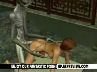 Aliens Fuck Beauty Babes