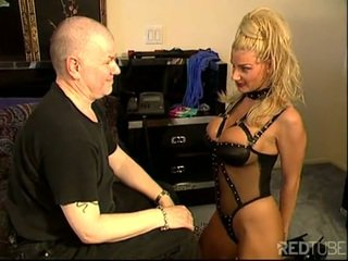 Brittany andrews blond grand seins esclave
