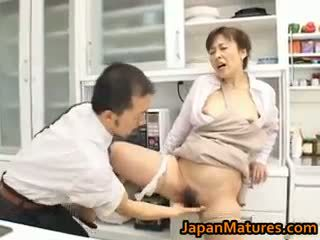 Hitomi kurosaki vyzreté ázijské kočka part1