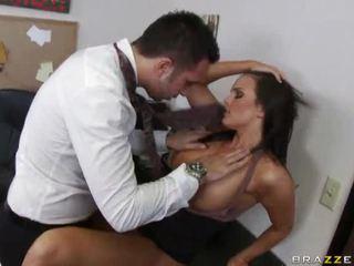 vol brunette tube, schattig, hardcore sex actie