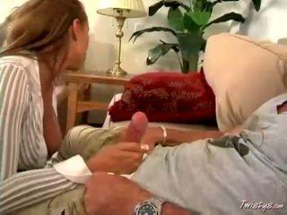 Blonde Honey TiAna Lynn Deepthroating A Ma Gapive Long Hard Jock