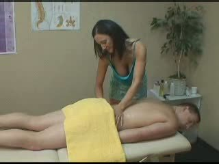 hq brunette, nice massage tube, handjob