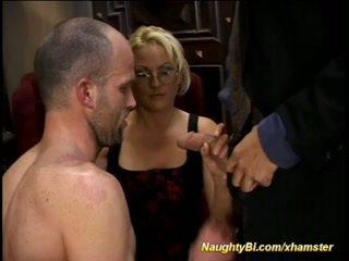 meer anaal, ideaal strapon video-, een biseksuelen scène