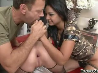 Rocco Siffredi Let The Two Bitch Bow For A Finger Fuck