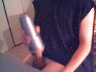 Fleshlight Black Shirt cum spermshot stimulating