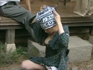 जपानीस horniest हाउसवाइफ कभी