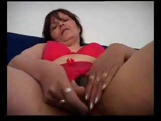 Hairy Milf Surprised by Not Her Son