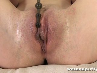 Yvonne Loves Tempting Her Muff All Over Various Playthings