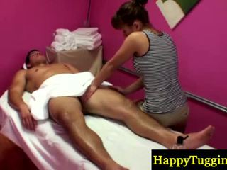 Asiansex Masseur Strips To Rub His Cock