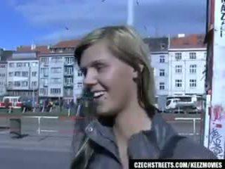 Tschechisch streets - ilona takes bargeld für öffentlich sex