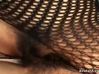 japanese new, real fishnet see, bodystocking watch
