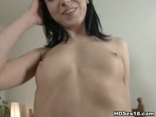 brunette video-, zien jong, u nice ass