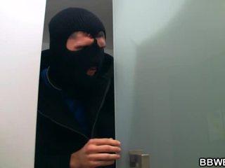 I Lured A Burglar Nearby My Giant Boobs