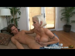 Hot Momma Kasey Grant Hooks Her Sweet Slippery Mouth On A Beefy Cock
