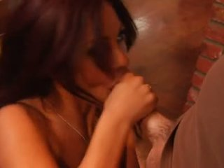 Seksual honey jadra holly bent over counter and rammed with ridged sik