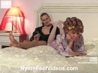 fin fot fetish kvalitet, kinky gfs and sex video fersk, ny strømpe sex