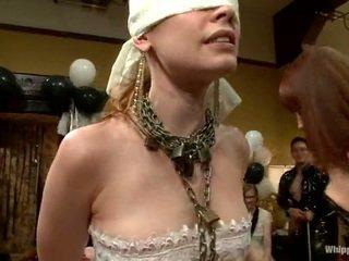 All Girl Bdsm Party Around Justine Joli