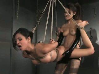 brunette seks, lesbiennes seks, vol exotisch video-