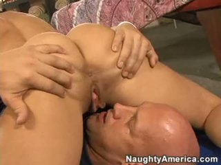 Indecent Babe BrAndi Love Stuffs Her Face Hole With A Thick Shaft And Enjoys It