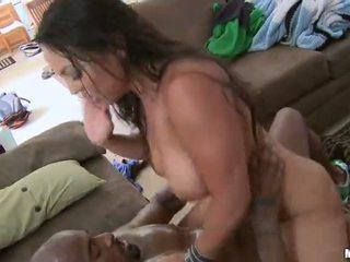 סקסי אמא שאני אוהב לדפוק adriana lima מזוין קשה על ידי a שחור זין וידאו