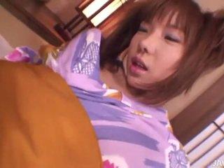vers jong actie, echt japanse, reverse cowgirl