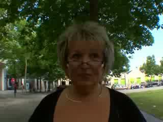 Carole צרפתי בוגר אנאלי מזוין