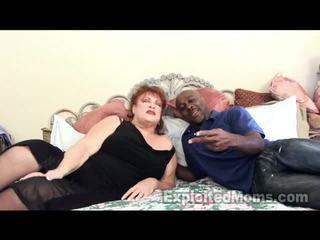 Παππούς receives bawdy cleft pounded με μεγάλος μαύρος/η καβλί