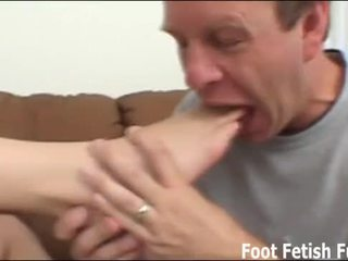 controleren footjobs video-, footfetish porno, meest foot-job scène