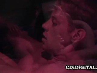 Kaylan nicole prsnaté blond retro naivka fucked ťažký