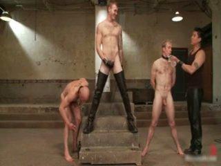 Ned و chad في جدا متطرف مثلي الجنس الاباحية عبودية