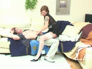 kwaliteit strap-on kanaal, plezier strap on bitches klem, vrouwelijke dominantie