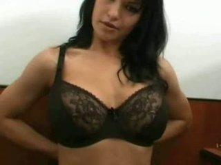 groß, große brüste, groß babes