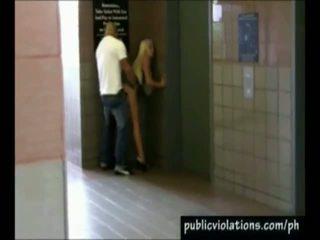Hot Public Porn Shot By The Hidden Webcam