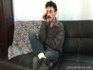 brunette actie, echt hardcore sex, een blow job gepost