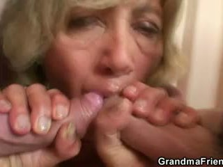 old, 3some, all grandma any
